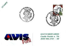 ITALIA - 1996 FORLI' 60° Fondazione Donatori Sangue AVIS - Salute