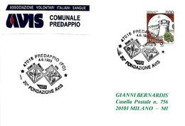 ITALIA - 1995 PREDAPPIO (FO) 20° Anniv. AVIS Donatori Sangue - Salute