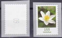 BRD **, Blumen:  155 Cent Buchwindröschen , Selbstklebend 1 Marke Mit Nr. 60 - Nuovi