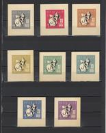 ++ 1966 VLKSM 4 Kop Nominal In Different Colour Thick Paper Colour Proof - Essais & Réimpressions