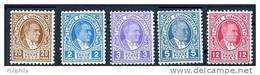 1936 TURKEY ATATURK POSTAGE DUE STAMPS MNH ** - 1921-... Repubblica