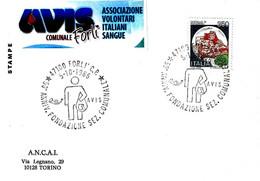 ITALIA - 1986 FORLI' 50° Anniv. Fondazione Donatori Sangue AVIS - Salute