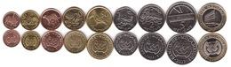 Mozambique - 1 5 10 20 50 Centavos + 1 2 5 10 Meticais Set 9 Coins 2006 - 2012 UNC Lemberg-Zp - Mozambique