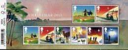 GREAT BRITAIN 2015 Christmas M/S - Blocks & Miniature Sheets