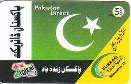 GREECE - Pakistan Direct, Euro Fotos Prepaid Card 5 Euro(807 2000), Used - Greece