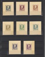 ++ 1939 King Karl 1 12 Nominal In Different Colour Thick Paper Colour Proof - Essais, épreuves & Réimpressions