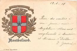 Montbéliard Blason éd Blazer - Montbéliard