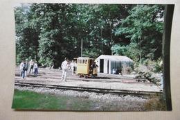 Photographie - Transports Chemins De Fer : Engin Ferroviaire En Forêt - Trains