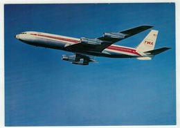 Aviation // TWA  Boeing 707 - 1946-....: Ere Moderne