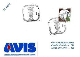 ITALIA - 1991 COPPARO (FE) 25° Fondazione Donatori Sangue AVIS - Salute
