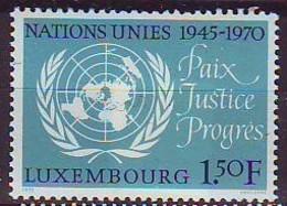 LUXEMBOURG 813,unused - Unused Stamps