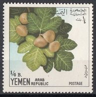 Yemen 1967 YAR Mi. 551 Frutta Fichi Nuovo MNH - Frutta