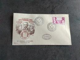 TIMBRE FRANCE ENVELOPPE PREMIER JOUR FDC JOURNEES VÉTÉRINAIRES ALFORT 1951 TBE - 1950-1959