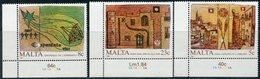 Malta 1987 772-774 European Year Of The Environment. A Century Of Esperanto. International Year Of The Homeless Shelter - Esperanto
