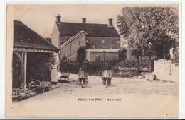 CPA- POUILLY-le-FORT - Le Lavoir-1922-dép77-2scans - Frankrijk