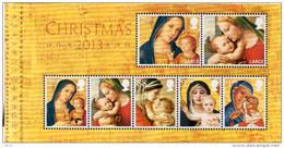 GREAT BRITAIN 2013 Christmas: Madonna And Child Paintings M/S - Blocchi & Foglietti