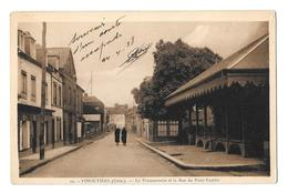 (24469-61) Vimoutiers - La Poissonnerie Et La Rue Du Pont Vautier - Vimoutiers