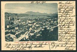 1901 Switzerland LUZERN Prell & Eberle Postcard - Uznach, St Gallen - Storia Postale