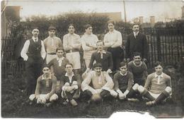 CARTE PHOTO / PARIS XVème / SPORTING CLUB DE VAUGIRARD, EQUIPE SECONDE,TROISIEME SERIE / CHAMPION DE PARIS 1912 - 1913 / - Distretto: 15