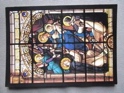 Les Sables D'Olonne. Eglise Notre Dame De Bon Port. Vitrail Du Rosaire (Lefevre - Paris - 1880). Chapelle Du Rosaire - Sables D'Olonne