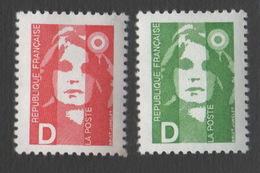 France Neuf Sans Charnière 1991 Marianne Du Bicentenaire YT 2711 2712 - Frankreich
