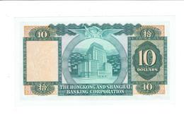 BILLET HONG KONG - 10 DOLLARS - 01/02/1965 - 128671 KC - SUP - 1 PLI CENTRAL - Hong Kong