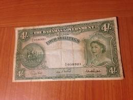 BAHAMAS -  4 Shillings ( 1923) - Bahamas