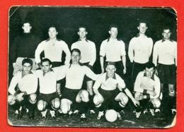 Equipe Nationale Militaire Belge - Fotochromo 7 X 5 Cm - Soccer