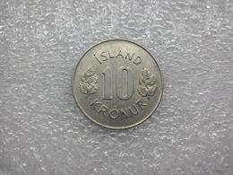 Iceland  10 Kronur 1974 - Islandia
