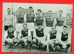 Exc. Hasselt - 1957-1958 - Bevordering D - Fotochromo 7 X 5 Cm - Voetbal