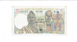 BILLET BANQUE DE L'AFRIQUE OCCIDENTALE - COLONIES FRANCAISES - 5 FRANCS - 29 JUIN 1949 - SUP - Banknotes