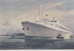 "Cpsm 10X15 . PAQUEBOT Motor Ship  ""BATORY""  Polish Ocean Lines - Paquebots"