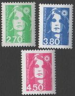 France Neuf Sans Charnière 1996 Marianne Du Bicentenaire Série Complète YT 3005 3006 3007 - France