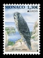 Monaco 2019 Mih. 3446 Europa. National Birds. Fauna. Peregrine Falcon MNH ** - Neufs