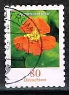 Bund 2019, Michel# O Blumen: Kapuzinerkresse, Selbstklebend - Used Stamps