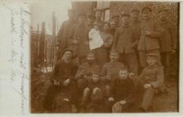 GENECH CARTE PHOTO ALLEMANDE 1916 - Francia