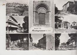 MONTEGRANARO ASCOLI PICENO SALUTI VEDUTE PAESE - Ascoli Piceno