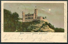 1902 Switzerland Baden Schloss Litho Postcard - Uznach, St Gallen - Storia Postale