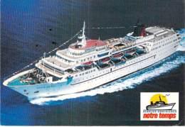 """Paquebot De Croisière """" AGEAN DOLPHIN """"- CPM GF 1989 Croisière Notre Temps - Liner Cruise Ship Kreuzfahrtschiff - Dampfer"""