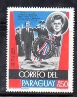 BIG - PARAGUAY ,  Serie Nuova Integra ***  MNH  (2380A) . KENNEDY - Paraguay