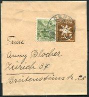 1950 Switzerland Uprated Stationery Wrapper Bern - Zurich - Switzerland