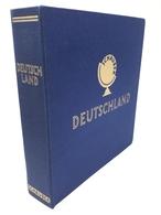 SCHAUBEK Schraubendecke Ganzleinen Blau Deutschland Gebraucht (Z1441) - Alben & Binder