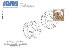 ITALIA - 1984 BOLOGNA 45° Fondazione Donatori Sangue AVIS - Salute