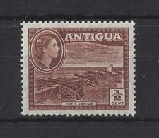 ANTIGUA..QUEEN ELIZABETH II.(1952-NOW)...HALFc......SG120a.....MNH. - 1858-1960 Colonia Británica