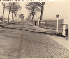 Foto Straße Nach Ostende (?) - 2. WK - 8*6cm (42406) - Orte