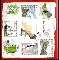 """France 2007 : Y&T  Bloc N°111 Timbre N°4073 à 4076  """" Capitale Européenne : Bruxelles """" - Mint/Hinged"""