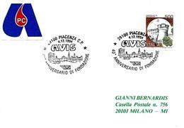 ITALIA - 1994 PIACENZA 40° Anniv. Fondazione Donatori Sangue AVIS - Salute
