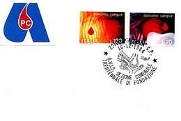 ITALIA - 1984 PIACENZA 30° Anniv. Fondazione Donatori Sangue AVIS - Salute