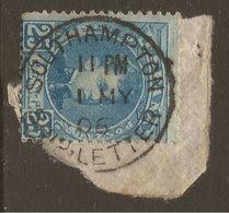 SPAIN / GREAT BRITAIN. 1905. SOUTHAMPTON SHIP LETTER CANCEL. - 1889-1931 Kingdom: Alphonse XIII