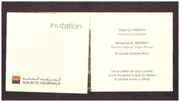 Invitation à Bord Du Belem. 3 Mâts Construit En 1896. 1 Des + Grands Et Des + Anciens. Visite. Cocktail. Réception. 2009 - Autres Collections